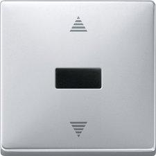Merten Jalousie-Taster mit IR-Empfänger und Sensoranschluss (584460)