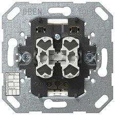 Gira Instabus KNX/EIB Taster-Busankoppler 2fach mit Zweipunktbedienung (018500)