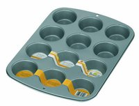 BIRKMANN Bakers Pro Muffin-Form 12er antihaft (231016)