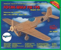 Weico Holzbausatz Focke Wulf FW 190