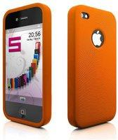 Katinkas Swirling Orange (iPhone 4)