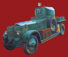 Roden 005 WWII British Armoured Car Pattern 1920 Mk.I (801)