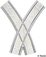 Tillig Bogenkreuzung symmetrisch (87653)