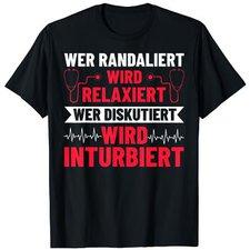 T-Shirt Faschingskostüm Notarzt