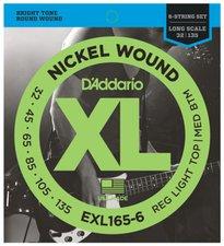 Daddario EXL 165-6 XL Nickel Round Wound