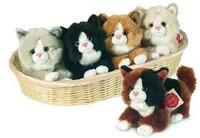 Hermann Teddy Collection - Katze mit Stimme 18 cm (sortiert)