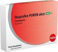 Actavis Ibuprofen 400 mg Filmtabletten (20 Stk.)