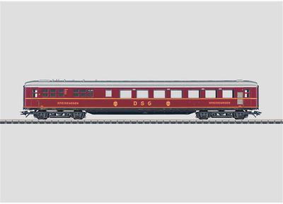 Märklin 43242 - Schürzen-Speisewagen DSG (H0)