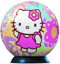 Ravensburger Hello Kitty - Puzzleball Flower Power (270 Teile)