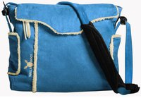Wallaboo Wickeltasche Nore blau