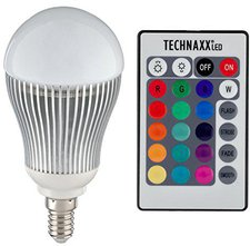 Technaxx LED RGB 5W E14 mit Fernbedienung (3727)