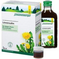 Duopharm Löwenzahn Saft Schönenenberger Heilpflanzensäfte (3 x 200 ml)