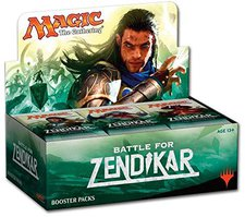 Magic: The Gathering Zendikar Booster Display