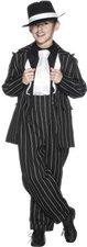 Smiffys Gangster-Kostüm für Jungen