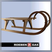 KKM Hörner Rodel mit Lattensitz
