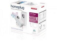 Sitecom Homeplug 200 Mbps Plus Socket LN-506