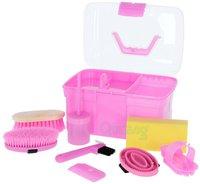 Kerbl Putzbox befüllt für Kinder 8-teilig