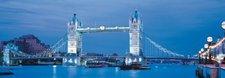 Clementoni London - Tower Bridge (Panorama, 1.000 Teile)