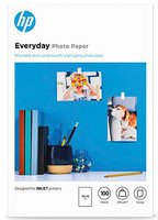 Hewlett Packard HP Photopapier Everyday Glossy, 10x15 cm (CR757A)
