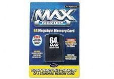 Datel PS2 Memory Card 64 MB