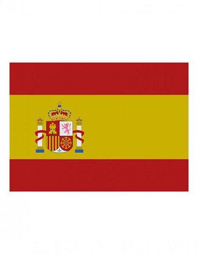 Spanien Fanfahne EM 2016
