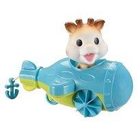 Vulli Giraffe Sophie im Boot zum Aufziehen