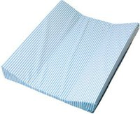 Zöllner Wickelauflage 2-Keil Mulde Streifen blau