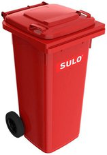 Sulo Mülltonne 120 Liter rot