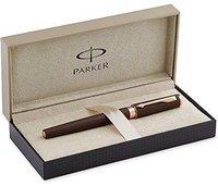 Parker Ingenuity ? Slim Brown Rubber Parker 5th Füllfederhalter Brown Rubber M