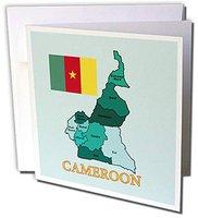 Kamerun Fahne div. Hersteller