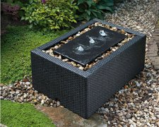Ubbink Umrandung DecoWall Wicker 5