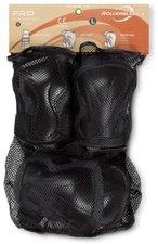Rollerblade Protektoren-Set Pro 3 (anthrazit/schwarz)