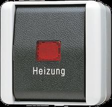 Jung Heizung-Notschalter 806HW