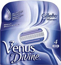Gillette Venus Divine 4er Pack Rasierklingen