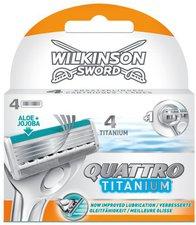 Wilkinson Quattro Titanium 4er Pack Klingen