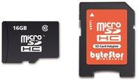 ByteStor SDHC Card 16 GB Class 10