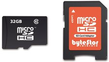ByteStor 32GB micro SDHC Class 10 Card
