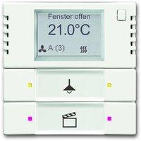 Busch-Jaeger Raumtemperaturregler mit Tastsensor 2/4fach (6128/01-884)