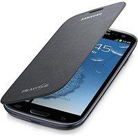 Samsung Flip Cover silber (Samsung Galaxy S3)