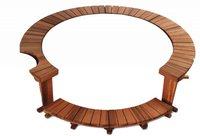 Holzumrandungen für Pools div. Hersteller