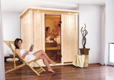 Fronteinstieg-Sauna Sodin