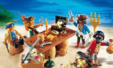 Playmobil 4292 Piratenbande mit Beuteschatz