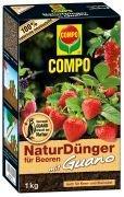 Compo NaturDünger für Beeren mit Guano 1kg