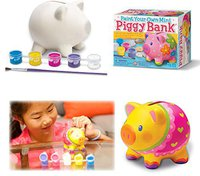 4M Paint Your Own Piggy Bank (00-04505)