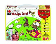 Marabu Fun & Fancy Window Color-Set Funny Spring