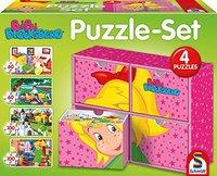 Schmidt Spiele Puzzle Set Bibi Blocksberg (2x60 & 2x100 Teile)