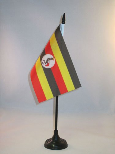 Uganda Tischflagge