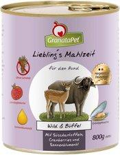 GranataPet Lieblingsmahlzeit Wild, Süßkartoffel, Cranberries, Sonnenblumenöl (400 g)