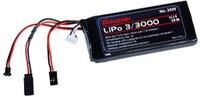 Graupner Senderakku flach LiPo 3/3000 11.1V TX (3439)