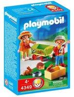 Playmobil 4349 Bollerwagen mit Kleintieren